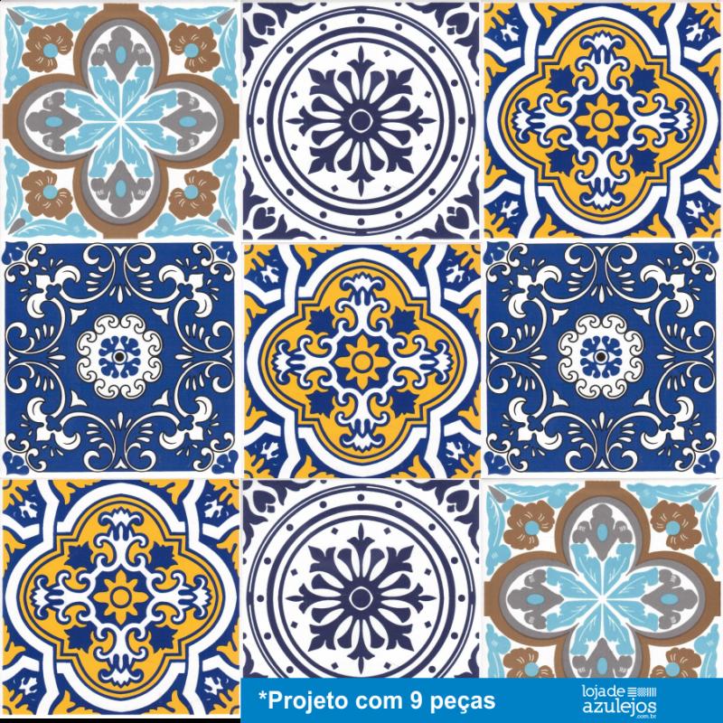 Papel Decorativo Sobre Azulejos