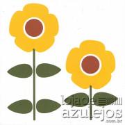 Azulejo 15.4x15.4 - Flores Amarelas