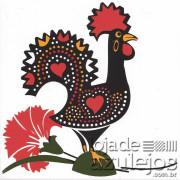 Azulejo 15.4x15.4 - Galo de Barcelos Português