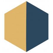 Ladrilho Hidráulico Hexagonal - H1