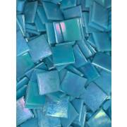 Pastilha Azul Claro Lisa Furta-cor -2x2cm