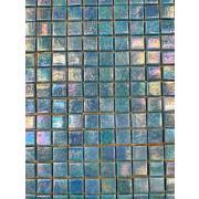 Pastilha tipo Murano - Azul Claro Furta Cor
