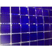 Pastilhas para mosaico -AZUL COBALTO- 2x2 - 75 Unidades