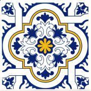 Azulejo 15.5x15.5 -  Português Home 12 - B - Novidade