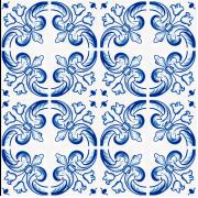 Azulejo Português - TP25 - 15.5x15.5