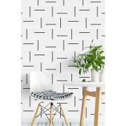 Azulejo Decor Lines 010 - Preto - 15x15 - Lançamento