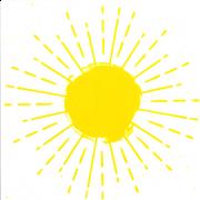 Azulejo SOL RADIANTE - LINHA MOSAICO