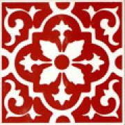Azulejo Vermelho 269D -15.4 cm