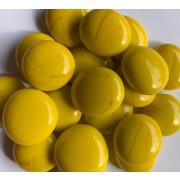 Gemas de vidro amarela