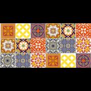 Kit de Azulejos Colormixed- 18 Peças #GB18