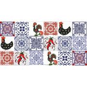 Kit de Azulejos Português com Pimenta- 18 Peças #GB103
