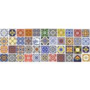 Kit de Azulejos Português Coloridos- 60 Peças #GB104- especial