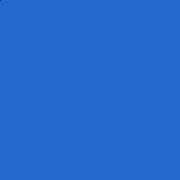Ladrilho Hidráulico Liso Azul B29 20x20 - M²