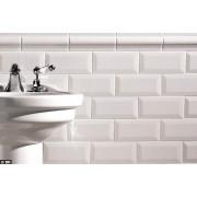 Revestimento Metro White- Eliane 10x20cm - m²