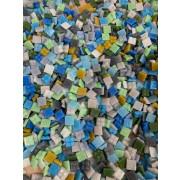 Pastilhas para Mosaico Pigmentadas  - 1x1 - 700 un