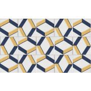 Azulejo 10.7x10.7cm - Tipo Português - ATP10- Peça
