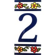 Número para Casa em azulejo-Nº2