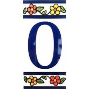 Número para Casa em azulejo-Nº0