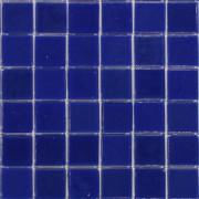 Pastilha azul lisa - 2x2 cm -112 pastilhas
