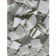 Pastilha Branca Pigmentada 2x2 cm