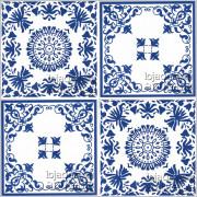 Patchwork de Azulejos 4 Peças - PTA39