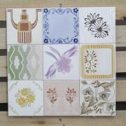 Patchwork de Azulejos Antigos com 9 peças - PA72