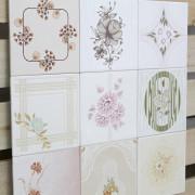 Patchwork de Azulejos Antigos com 9 peças - PA73