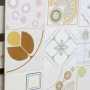 Patchwork de Azulejos Antigos com 9 peças - PA75