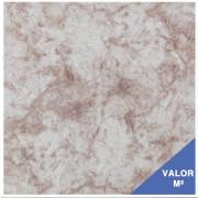 Piso cerâmico Sumaré 30X30 branco com rosa - 89