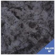 Piso cerâmico Portobello 29.5x29.5 - preto e cinza 67