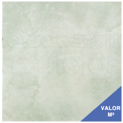 Piso Cerâmico Portobello 29.5x29.5 Verde com Rosa 84