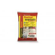 Rejunte Flexível Branco para Mosaico 1 kg - Quartzolit