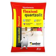 Rejunte Weber Flex 5Kg branco Quartzolit