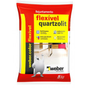 Rejunte Weber Flex 5Kg palha Quartzolit