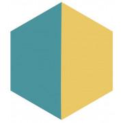 Ladrilho Hidráulico Hexagonal - H9