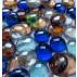 Gemas de vidro - Mix de cores com reflexo furta cor 2